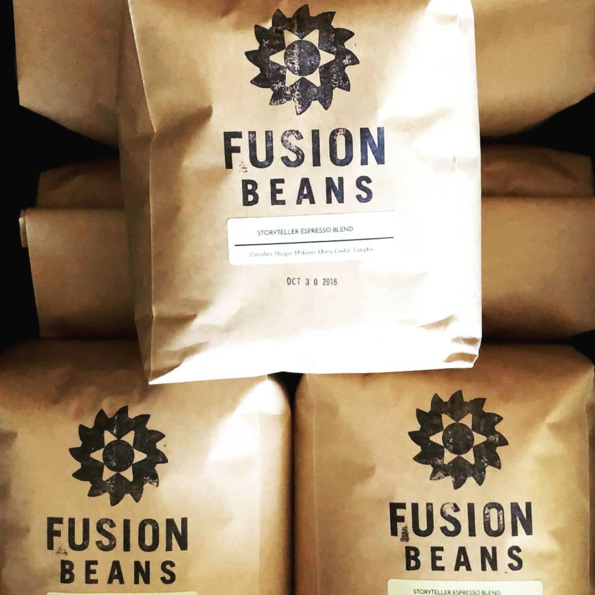 Retail packaging for Fusion Beans