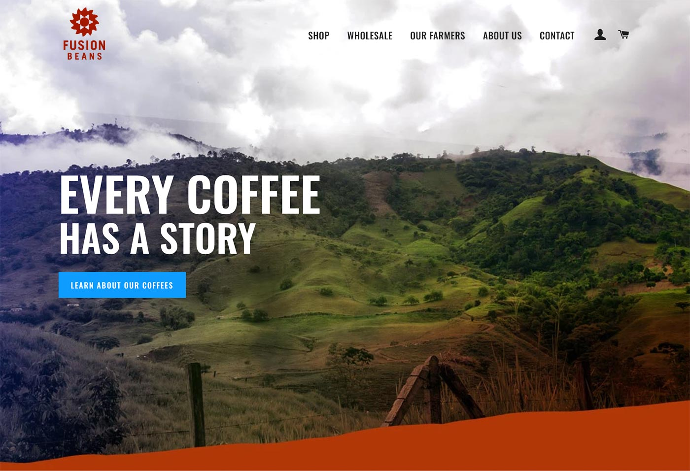 Fusion Beans new site enables easy ordering of beans for both retail and wholesale customers